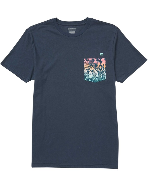 0 Team Pocket Tee  M431QBTP Billabong
