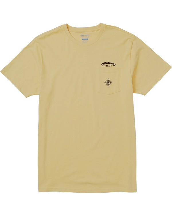 0 Compania Tee Shirt Beige M431SBCO Billabong