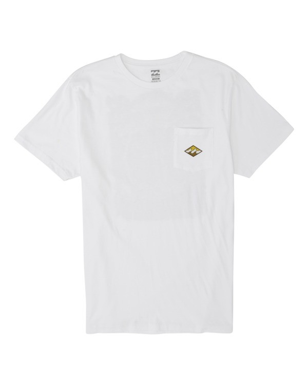 0 High Noon Short Sleeve T-Shirt White M4331BHN Billabong