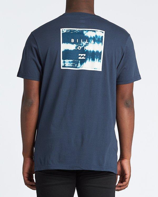 0 Stacked Fill Short Sleeve T-Shirt Blue M4331BSF Billabong
