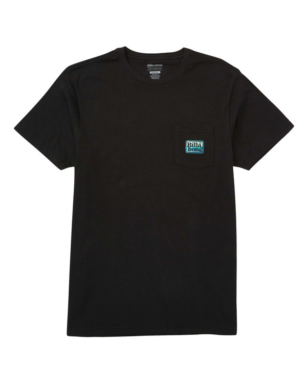 0 Cruiser Patch T-Shirt Black M433TBCP Billabong