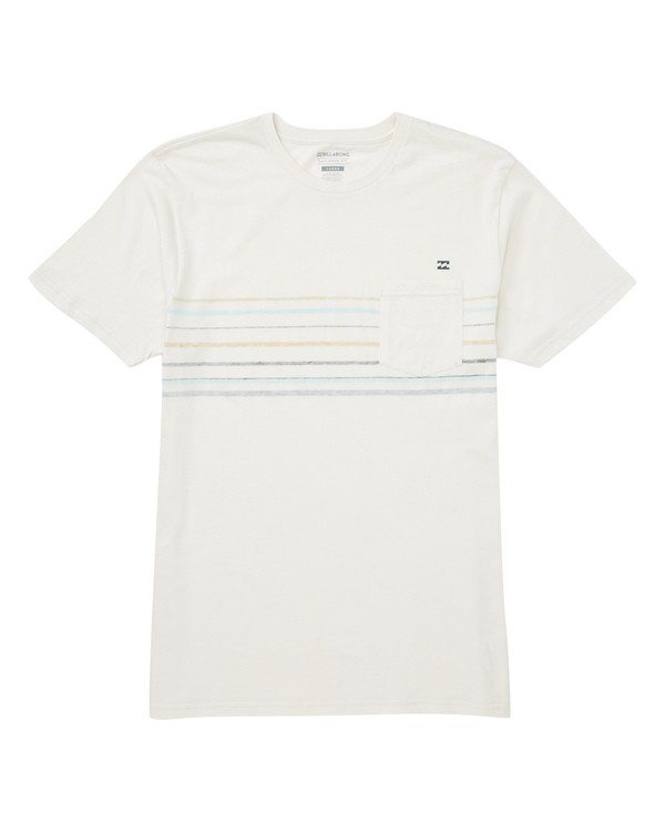 0 Spinner T-Shirt White M433TBSP Billabong