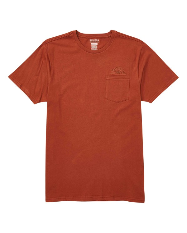 0 Sundaze T-Shirt Red M433TBSU Billabong