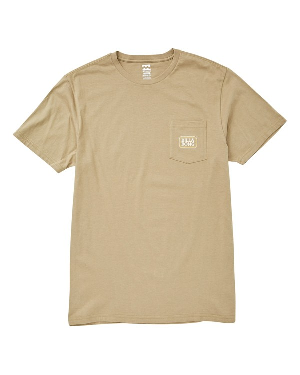 0 Jackson Tee Green M433UBJA Billabong