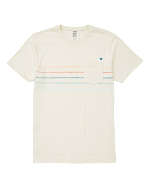 0 Spinner T-Shirt White M433UBSP Billabong