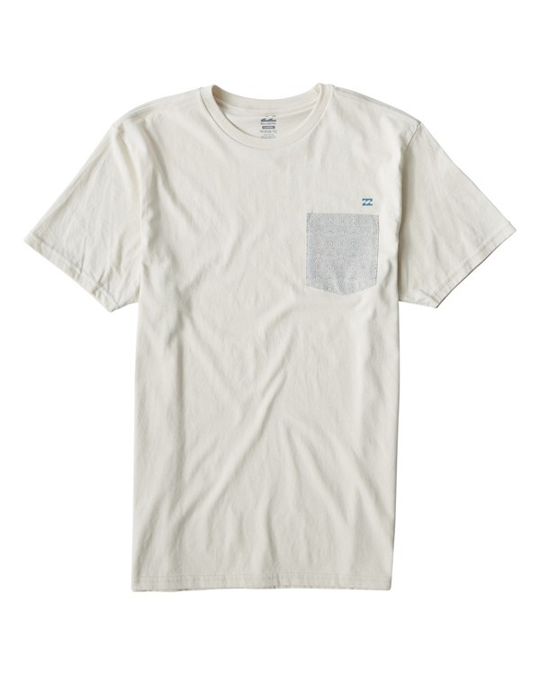 0 Teampocket Mini T-Shirt White M433VBTM Billabong