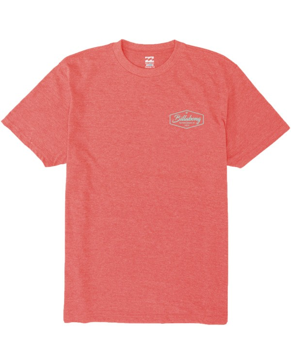 0 Trademark T-Shirt Red M4383BTM Billabong