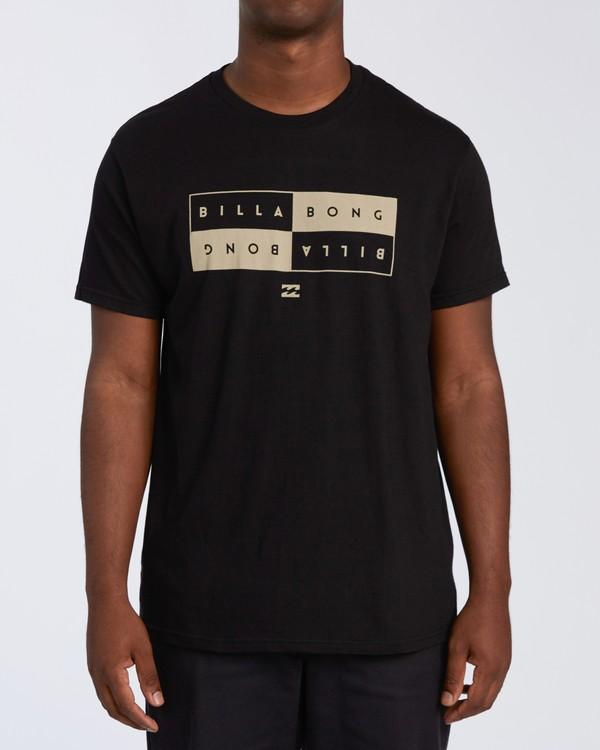 0 Opposite Short Sleeve T-Shirt Black M4601OPM Billabong