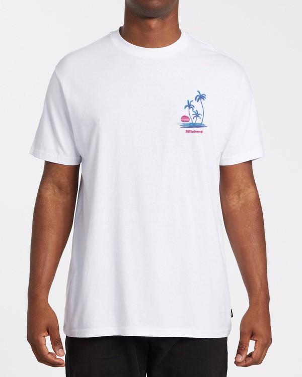 0 EC-Cruiser Short Sleeve T-Shirt White M4602BEC Billabong