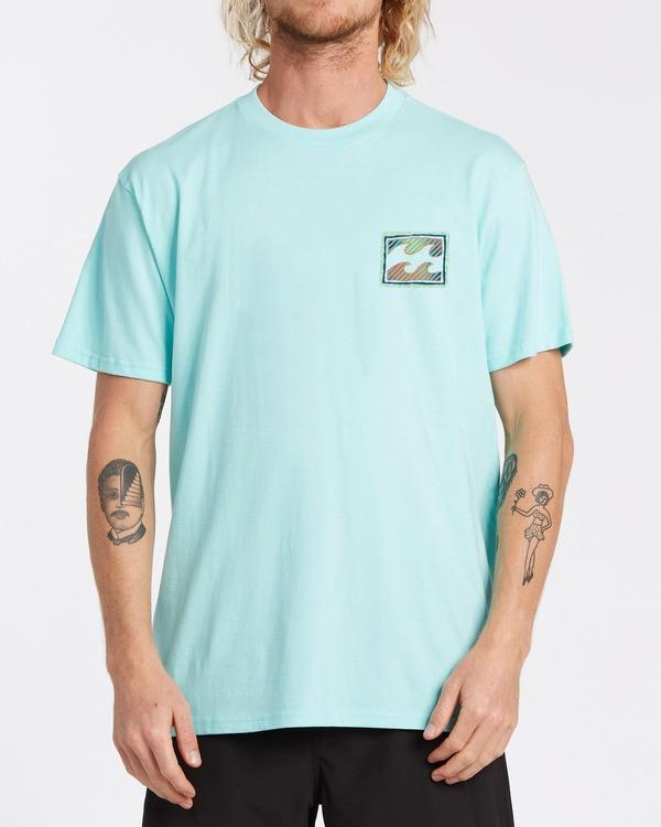 0 EC-Nosara 1 Short Sleeve T-Shirt Grey M4602BEN Billabong