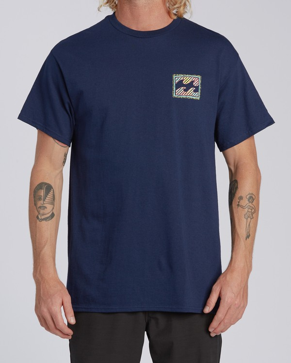 0 EC-Nosara 1 Short Sleeve T-Shirt Blue M4602BEN Billabong