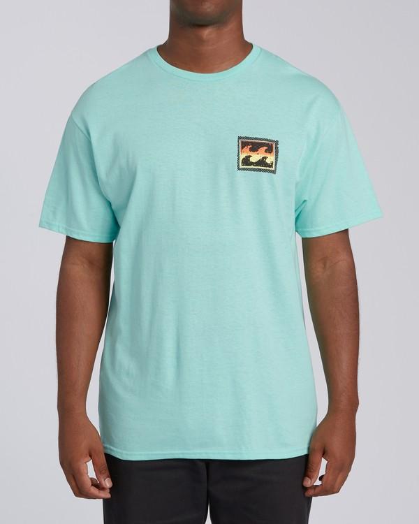 0 Nosara 2 Hawaii Short Sleeve T-Shirt Grey M4602BRA Billabong