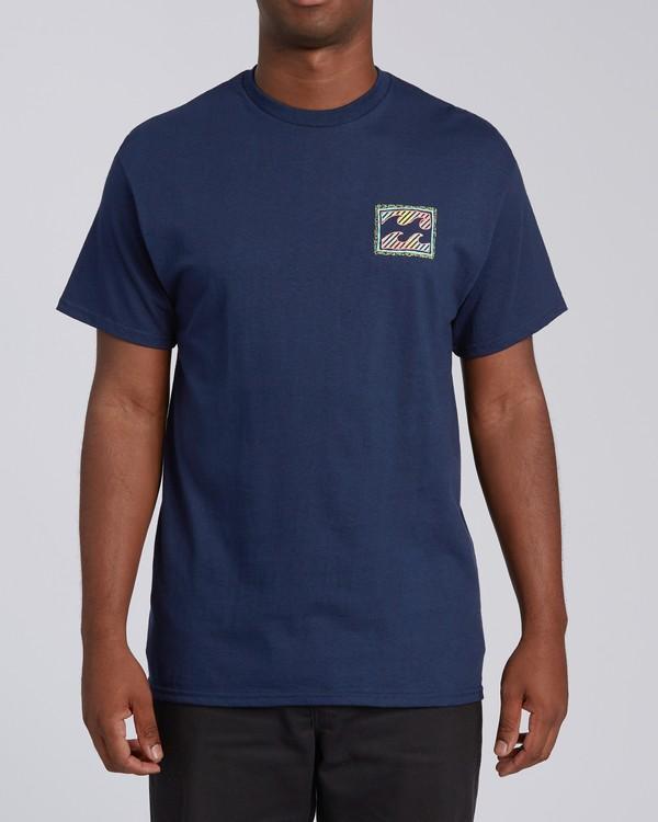 0 Nosara 1 Florida Short Sleeve T-Shirt Blue M4602BRS Billabong