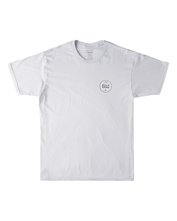 0 HI Lite Short Sleeve T-Shirt Grey M4603BVI Billabong