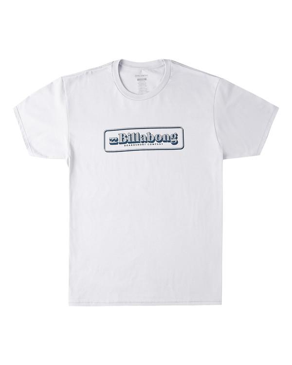 0 Sign Short Sleeve T-Shirt Grey M4603BVL Billabong