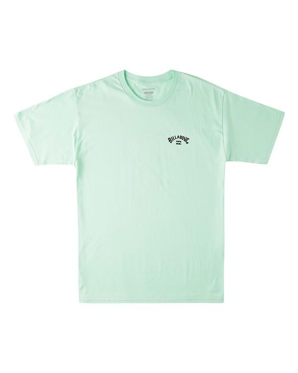 0 Waterloo Short Sleeve T-Shirt Green M4603BVV Billabong