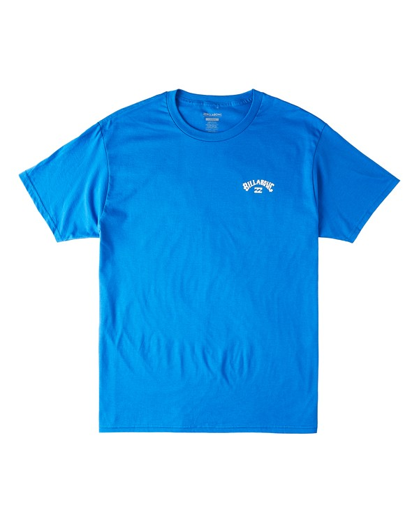 0 Waterloo Short Sleeve T-Shirt Blue M4603BVV Billabong
