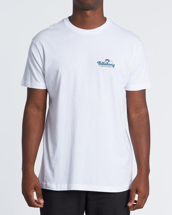 0 Lounge Short Sleeve T-Shirt White M460VBLO Billabong