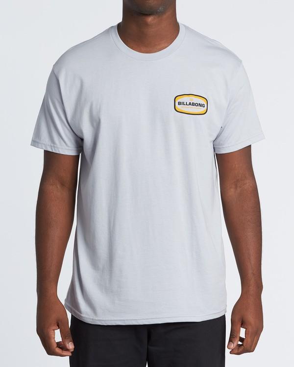 0 Ditch Short Sleeve T-Shirt Grey M460WBDT Billabong