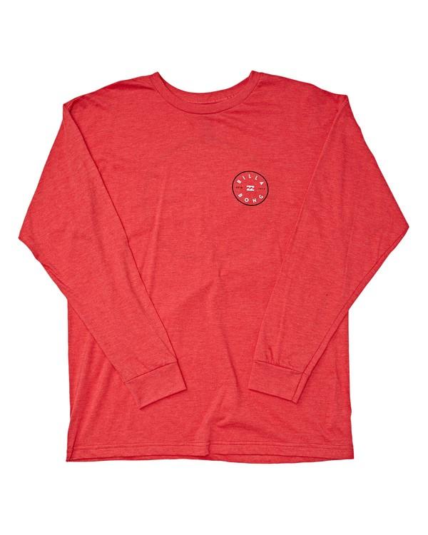 0 Rotor Long Sleeve T-Shirt Red M470TROE Billabong