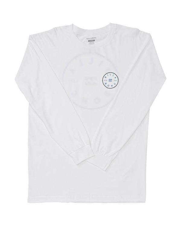 0 Rotor Long Sleeve T-Shirt White M470TROE Billabong