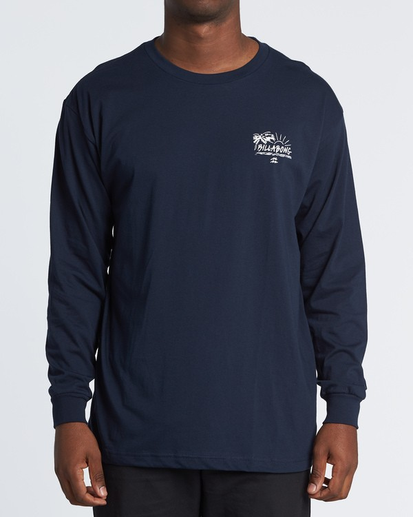 0 Sun Up Long Sleeve T-Shirt Blue M470WBSU Billabong