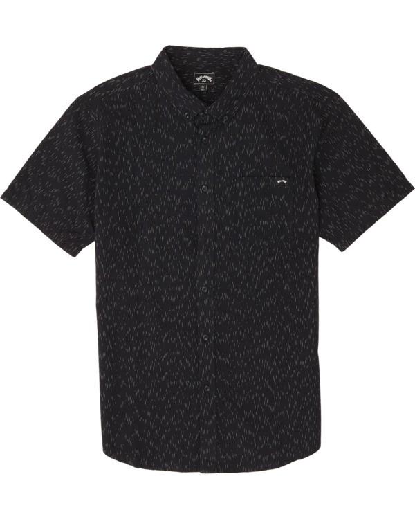 0 All Day Short Sleeve Shirt Black M5001BAL Billabong
