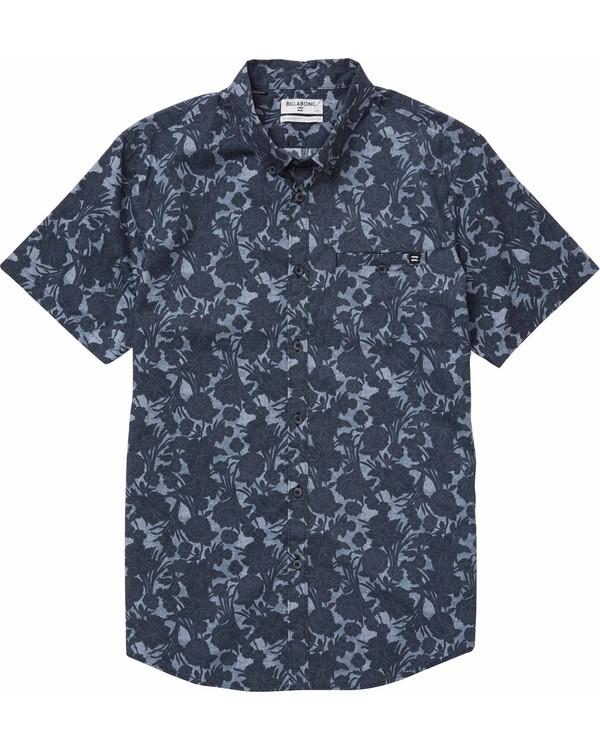 0 Sundays Mini Short Sleeve Shirt  M502NBSM Billabong