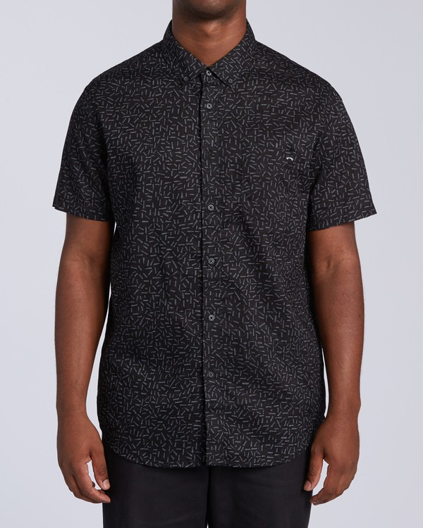 0 Sundays Mini Short Sleeve Shirt Multicolor M5033BSM Billabong