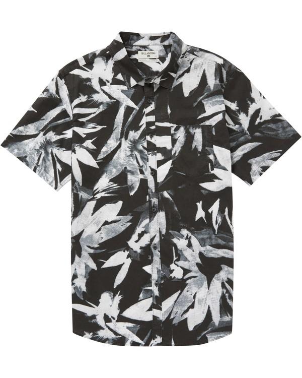 0 Sundays X Floral Short Sleeve Shirt  M503PBSF Billabong