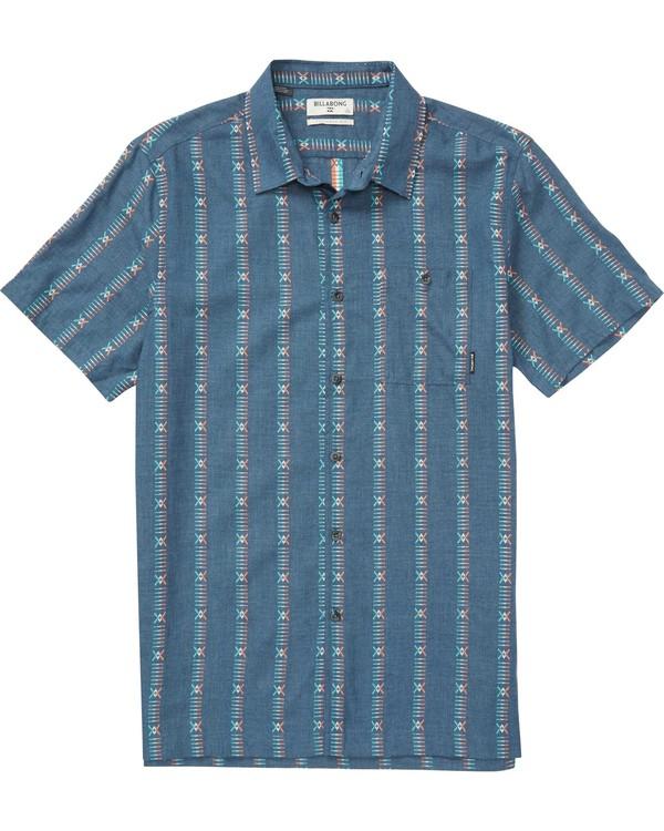 0 Sundays Jacquard Short Sleeve Shirt  M503QBSJ Billabong