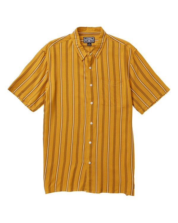 0 Cosmo Short Sleeve Shirt Grey M503SBCE Billabong