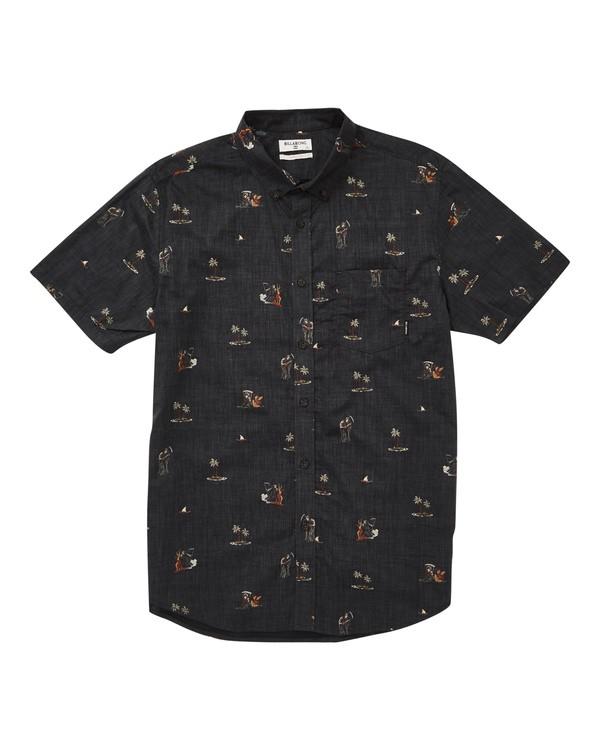 0 Sundays Mini Short Sleeve Shirt  M503TBSM Billabong