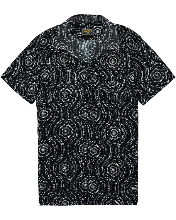 0 Cosmic Short Sleeve Shirt Blue M505QBCO Billabong