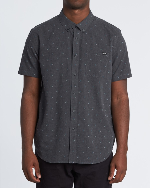 0 All Day Jacquard Shirt  M5071BSJ Billabong