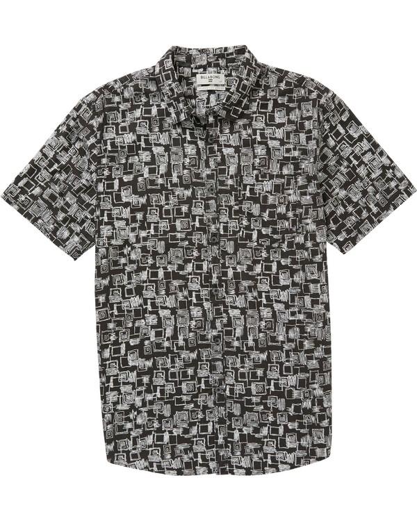 0 Sundays Mini Short Sleeve Shirt  M508PBSM Billabong