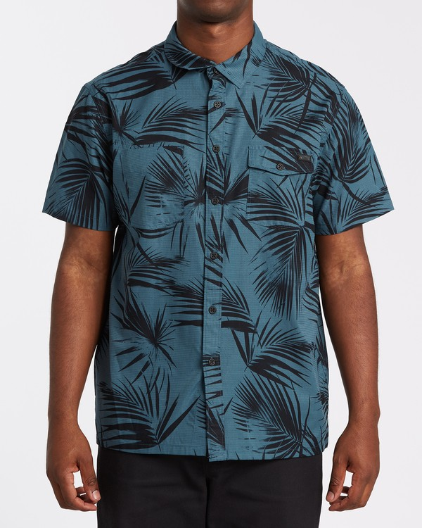 0 A/Div Surftrek Short Sleeve Shirt  M5131BSU Billabong
