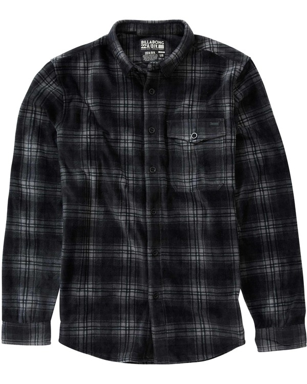 0 Furnace Flannel Shirt  M515LFUR Billabong