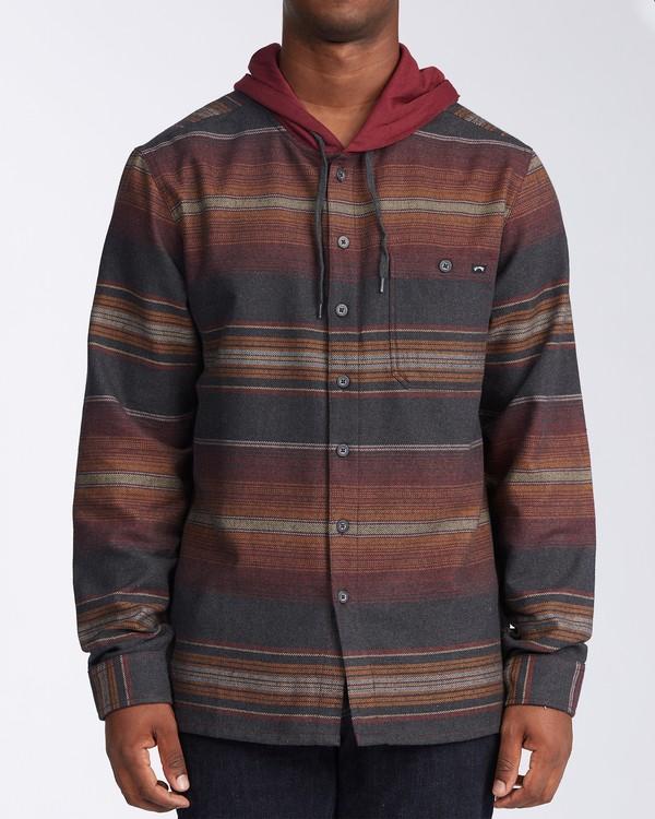 0 Baja Flannel Shirt  M5213BBF Billabong