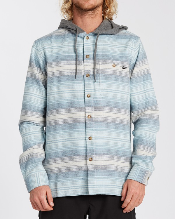 0 Baja Flannel Shirt Beige M5213BBF Billabong