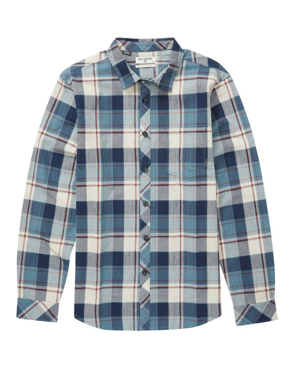 0 Coastline Flannel Shirt  M523QBCF Billabong