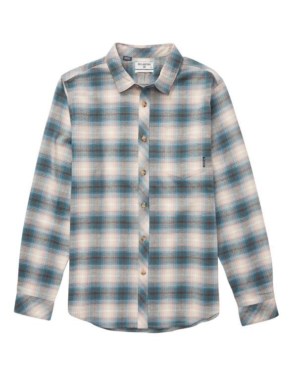 0 Coastline Flannel Shirt Pink M523QBCF Billabong
