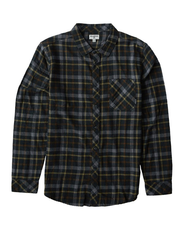 0 Freemont Flannel Shirt  M523VBFR Billabong