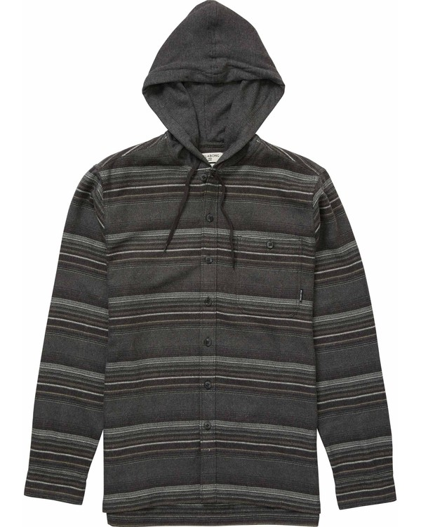 0 Baja Hooded Flannel  M524NBBA Billabong