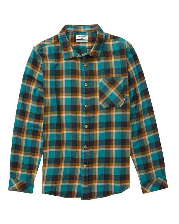 0 Freemont Flannel Shirt  M524QBFF Billabong