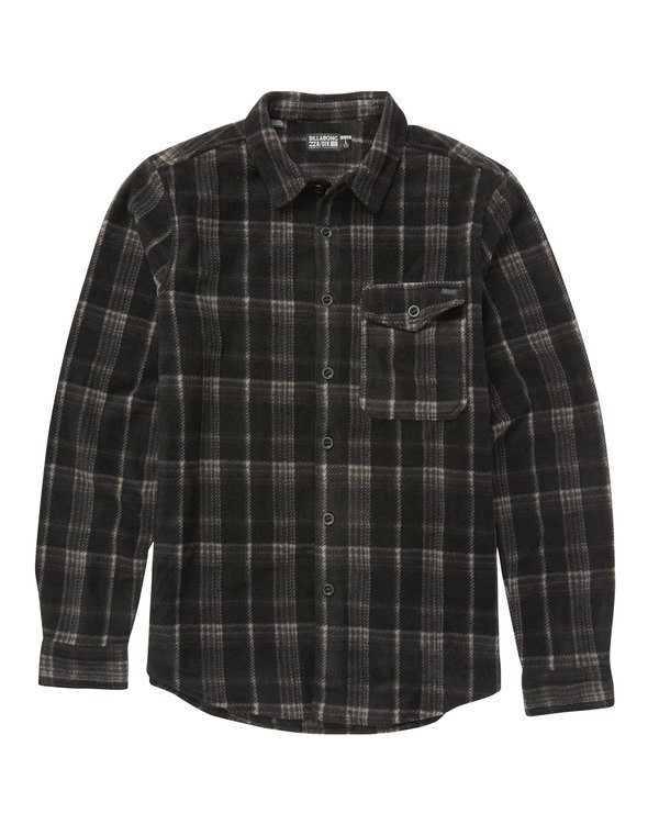 0 Furnace Flannel Shirt Black M527QBFF Billabong