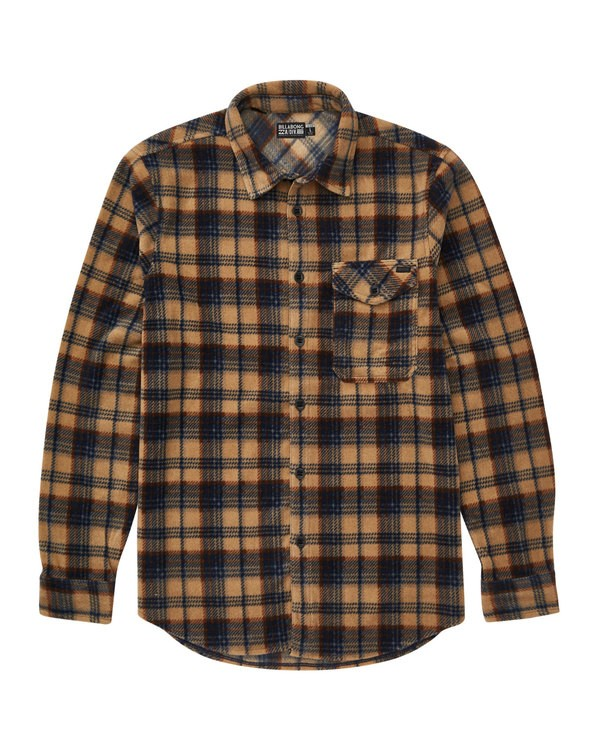 0 Furnace Flannel Grey M527QBFF Billabong