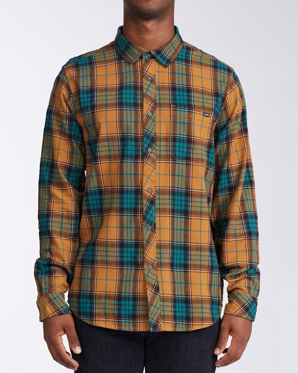 0 Coastline Flannel Shirt Multicolor M5323BCO Billabong