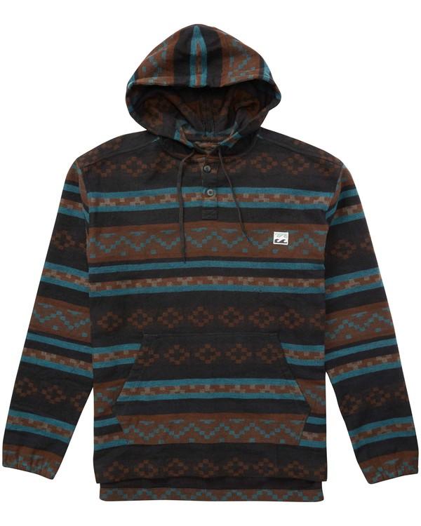 0 Baja Pullover Flannel Shirt  M532QBBP Billabong