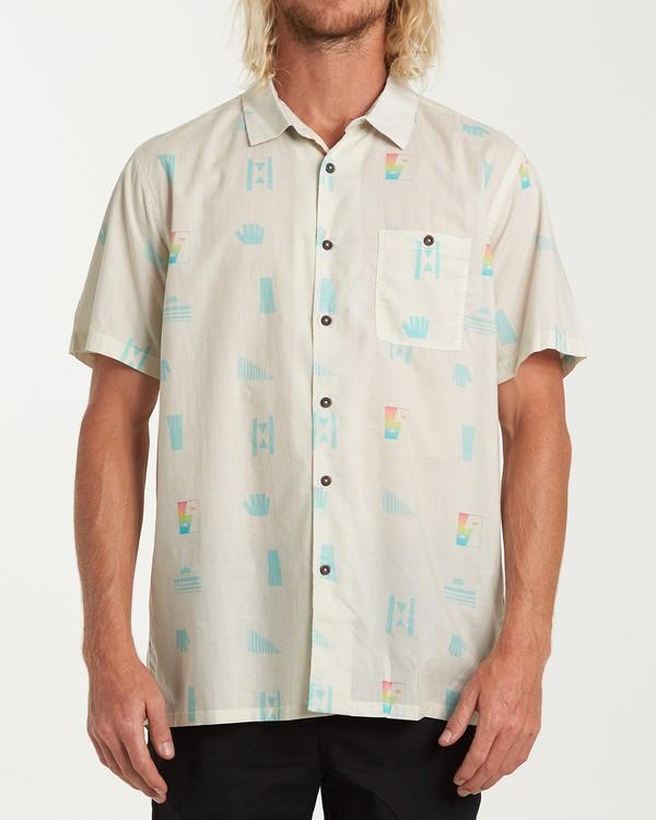 0 Online Short Sleeve Shirt Beige M547WBLA Billabong